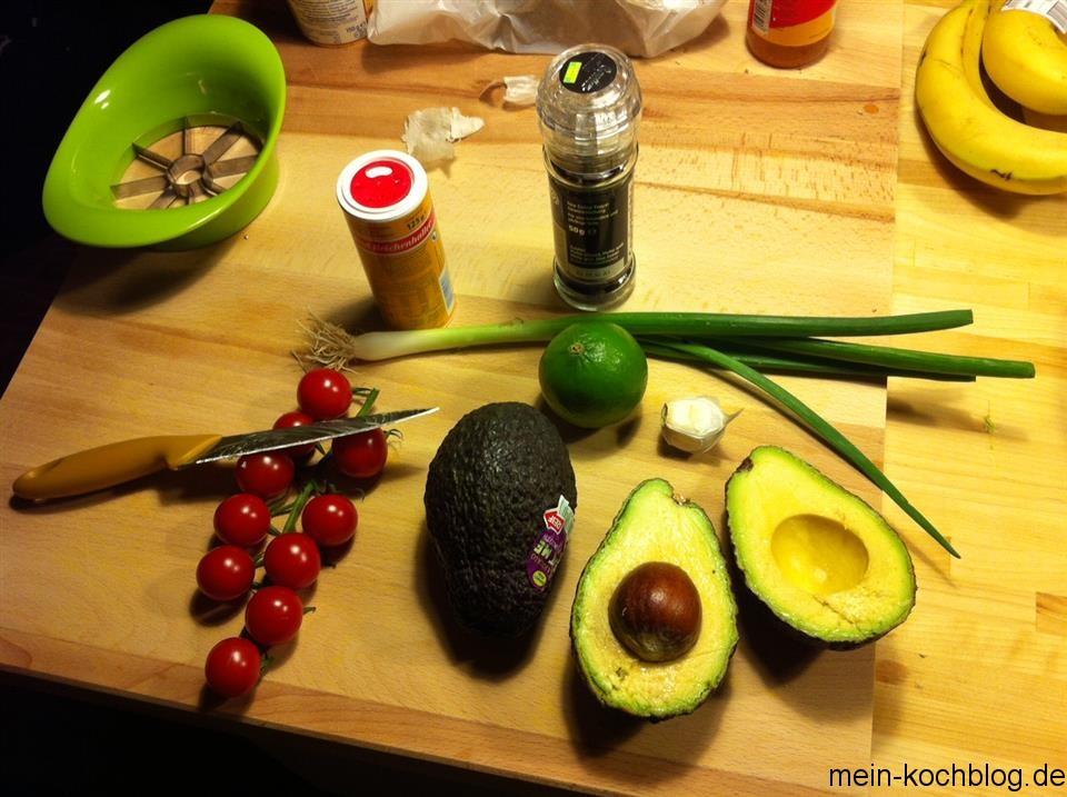 Guacamole selbstgemacht Zutaten